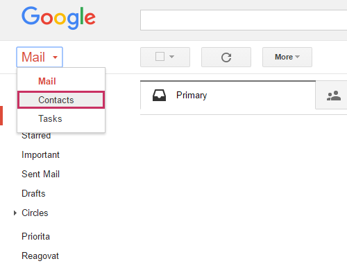 Access to your Gmail Contacts