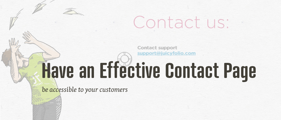 How to set your Contact page