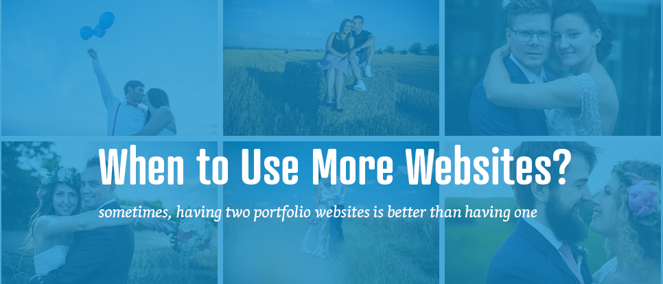 The benefits of multiple portfolio websites