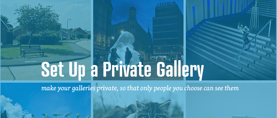How to create a private gallery in your admin?