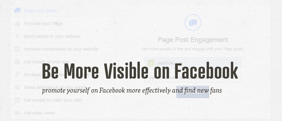 Draw more attention to your Facebook page