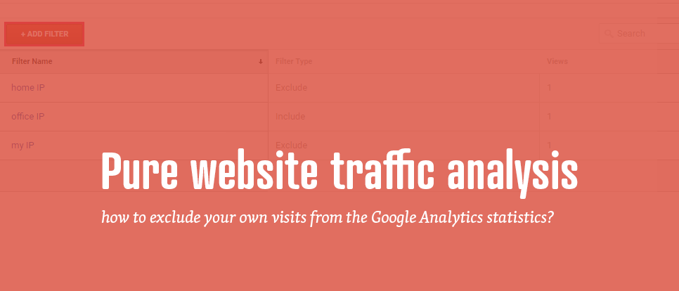 Website statistics without your visits