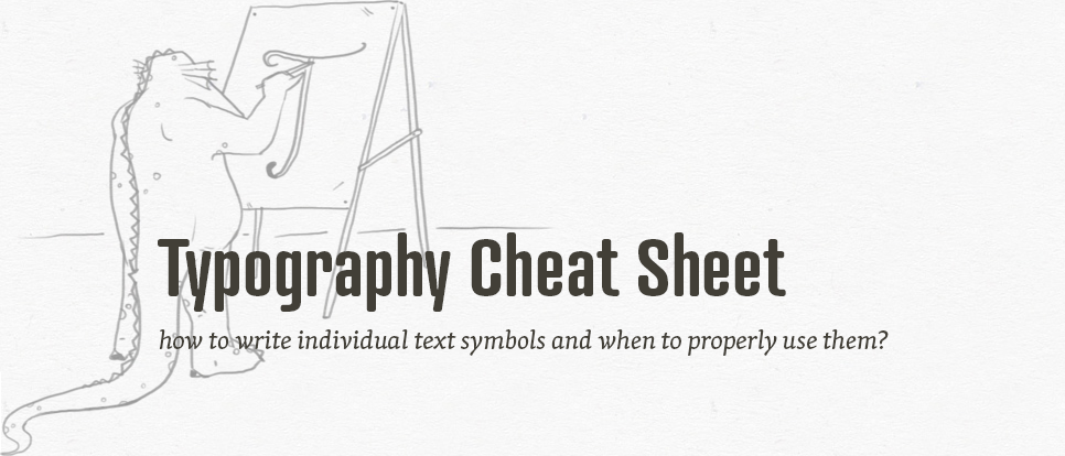 Typography, vol. 2 - How to write properly