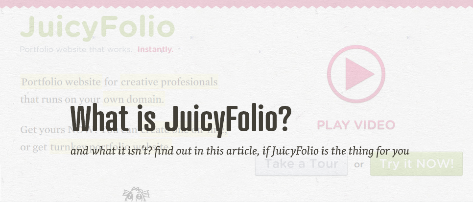 What is JuicyFolio for?